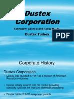 Dustex Overview for DustexTurkey Training