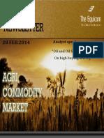 Daily Agri News Letter 28 Feb 2014