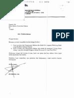 Surat Dirjen AHU C.HT.01.10-74 Tahun 2006 Penolakan Jaminan Fidusia Berupa Rekening Bank