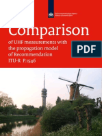Antenna Factor _ Comparison of Uhf Propagation Measurements With the Propagation Model of Itu r p1546_v5.
