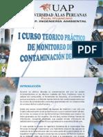 I Curso de  Monitoreo de la Contaminacion del Aire en Huancayo