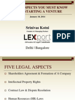 5 Legal Aspects_Presentation