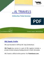 VRL Travels Online Bus Booking - TicketGoose
