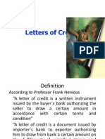 Letter of Credit - Copy