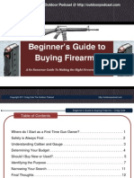 Beginners Guide to Buying Firearms eBook