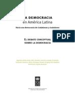 El Debate Conceptual Sobre La Democracia [Texto Completo]