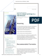 How to Reduce Call Drops in a GSM Network - TechMafia
