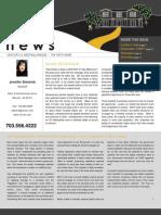 Newsletter Fall 2009
