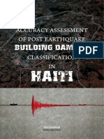 Accuracy Assessment of Post - Earthquake Building Damage Classification in Haiti