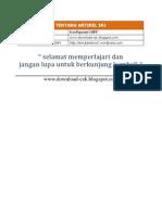 Konfigurasi OSPF