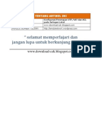 Konfigurasi Penerapan VTP