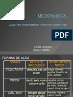 Medica legal- agentes cortantes