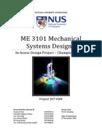 me3101 design report final