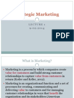 Strategic Marketing 01