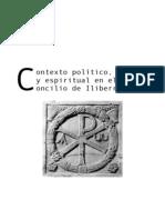 Contexto Politico Social Espiritual en El Concilio de Iliberri Elvira