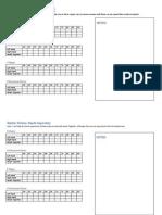 Scales Checklist - Grade 1