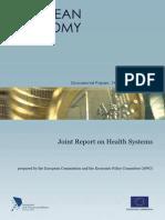 Joint Healthcare Report En