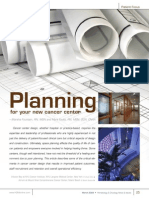 Planning for Your New Cancer Center