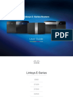 linksys E_Series user manual