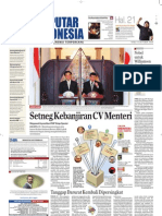 EPaper Harian Seputar Indonesia 14 Oktober 2009