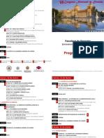 Programa VI Congreso Nacional de Derecho - Valladolid