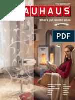 Bauhaus Katalog Herbst/Winter