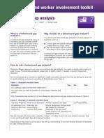 Behavioural Gap Analysis