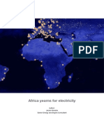 Africa Yearns for Electricity 2012 - Article by Jacob Klimstra