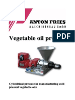 Edible Oil Press