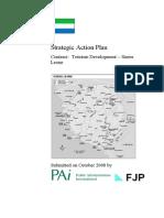 Tourism Strategic Action Plan - Sierra Leone