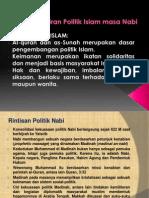 Pemikiran Politik Islam Pada Masa Nabi Muhammad SAW
