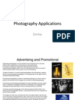Photography Book Pro Forma