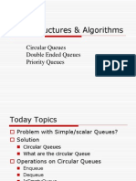 DataStructure - Circular, Double Ended, Priority Queues