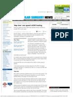 'Nap time' can speed LASIK healing _ Ocular Surgery News