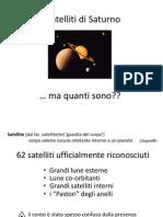 Saturno Satelliti