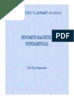 Fenomeni magnetici fondamentali