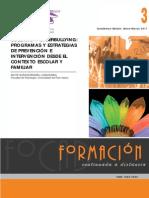 BULLYING Y CYBERBULLYING PROGRAMAS Y ESTRATEGIAS DE PREVENCIÓN E INTERVENCIÓN DESDE EL CONTEXTO ESCOLAR Y FAMILIAR
