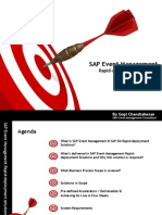 SAP Event Management Rapid-Deployment Solution