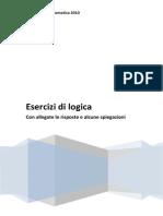 Esercizi Di Logica010