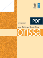 Land Rights Ownership in Orissa