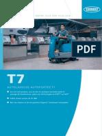 AUTOLAVEUSE AUTOPORTÉE T7