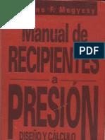 Pressure Vessel - Manual de Recipientes a Presion-Megyesy