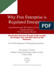 Why Free Enterprise is Regulated Enterprise