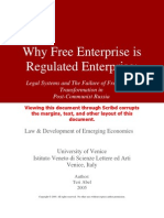 Why Free Enterprise is Regulated Enterprise