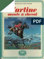 Martine Monte a Cheval