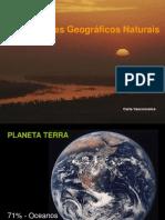 Os acidentes geográficos naturais