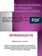 Aplicación de Nuevas tecnologías de la Información