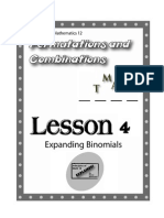 Principles of Math 12 - Permutations and Combinations Lesson 4