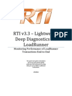 RTI Enable Loadrunner