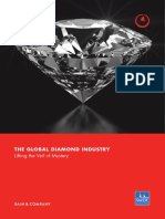 PR BAIN REPORT the Global Diamond Industry